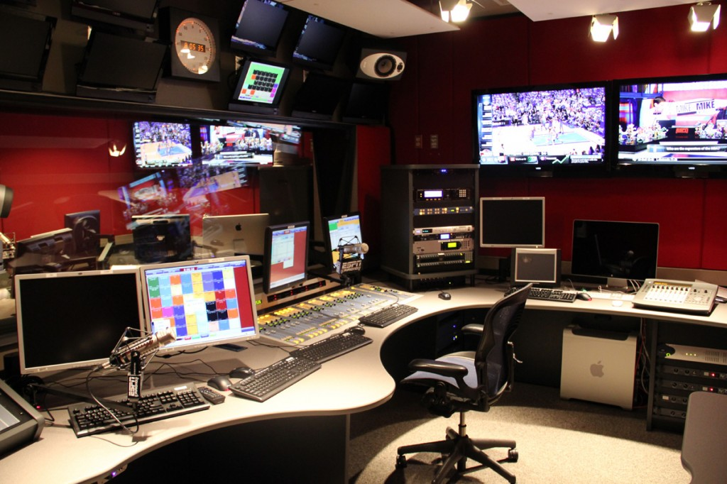 ESPN - Control Room 6 - Bristol, CT (Click to view the Innova Gallery)