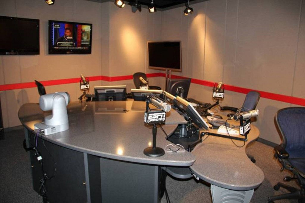ESPN - Bristol, CT (Click to view the Video-Comes-To-Radio Gallery)