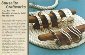 Sausalito Craftworks Jewelry Catalog