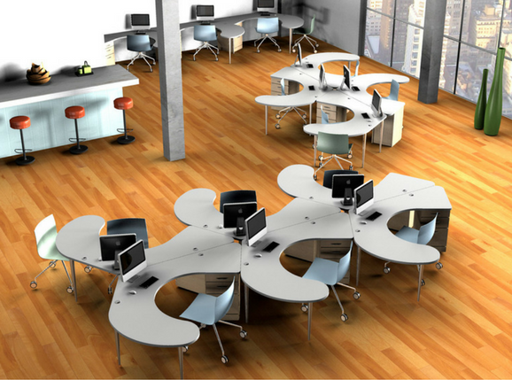High Tech Meets Ergonomic Tech with Backoffice's New Furniture