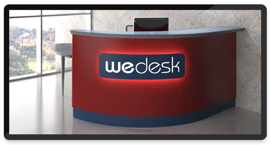 branded-reception-desk
