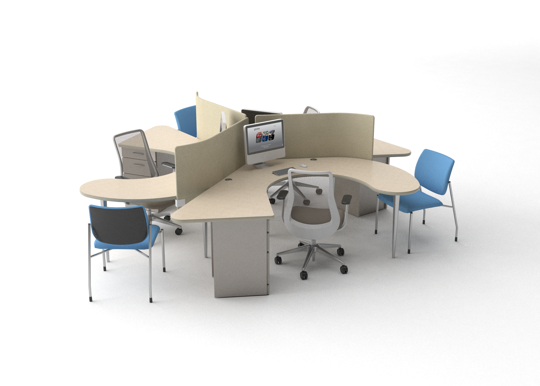 Open Floor Plan Office Furniture: Why Create An Open Office Floor PlanOmnirax