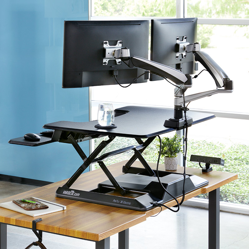 Pros and Cons of Standing Desk Converters