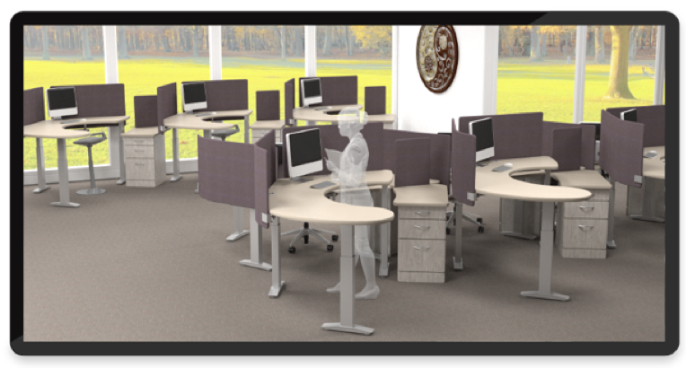 Omnirax or Varidesk: Creating the Ideal Workplace Environment Through Functional Design